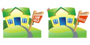 House for sale and sold house