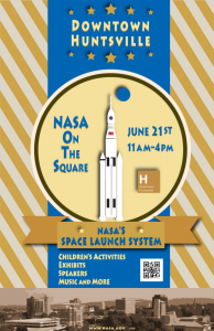 nasa on the square