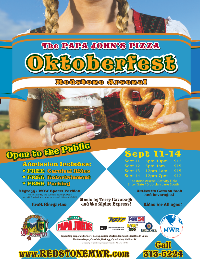 oktoberfest at redstone arsenal