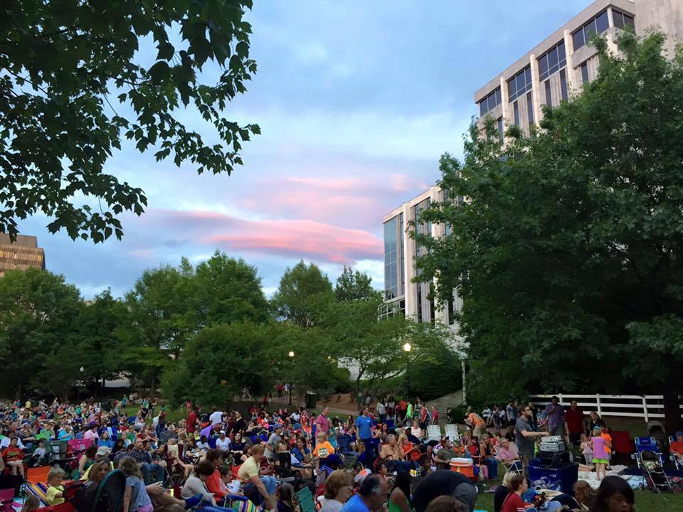 Movies in the Park presented by Historic Huntsville Foundation