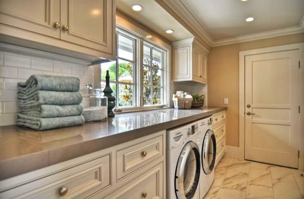 Creating a Luxurious Laundry Room